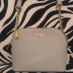 Steve Madden silver sleek purse. *CLASSY*